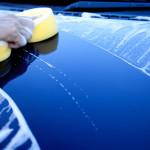 Autoaufbereitung, Vorwäsche von Hand