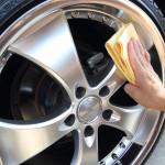 Autoaufbereitung, Felgenreinigung
